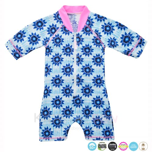 [플라티퍼스] Platypus Inky Bloom Baby All-in-One Sunsuit