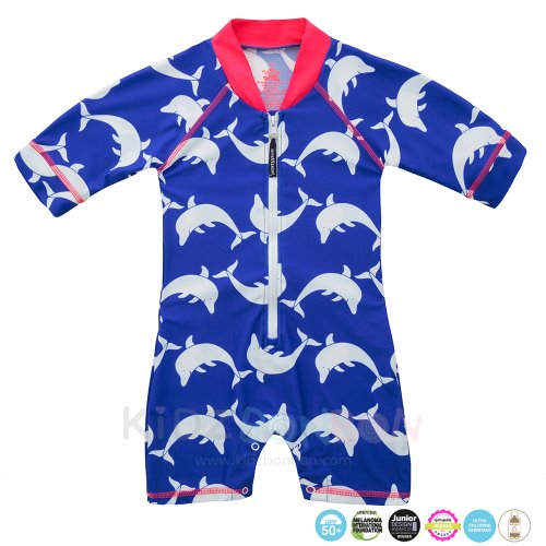 [플라티퍼스] Platypus Dolphin Watch Baby All-in-One Sunsuit