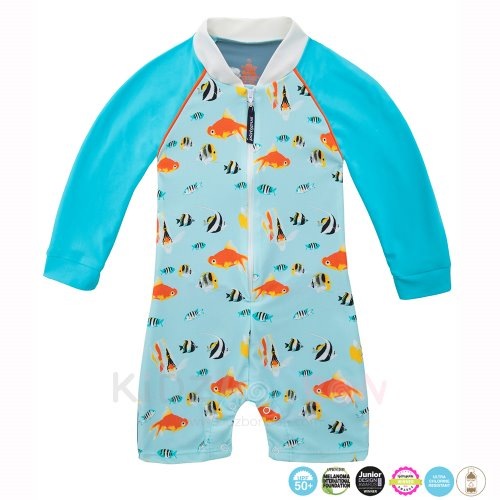 [플라티퍼스] Platypus Aquarium Baby All-in-One Sunsuit